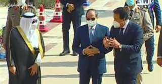 شاهد.. السيسي يتفقد جامعة الملك سلمان