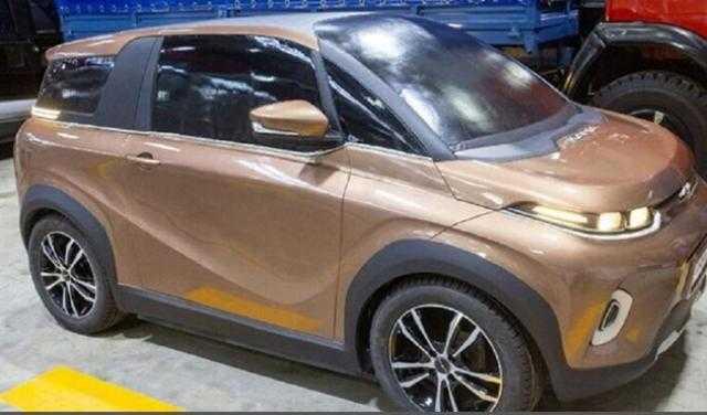 200 ألف جنيه .. سيارة كهربائية روسية كروس أوفر بالأسواق 2021