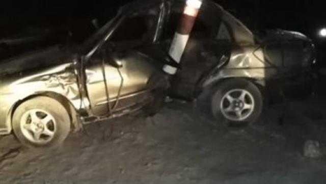 عاجل.. إصابة 4 في حادث تصادم بطريق أوتوستراد المعادي