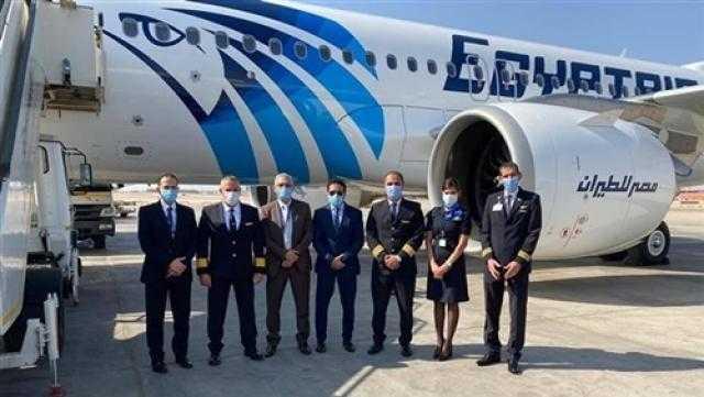 غدا.. مصر للطيران تسير 58 رحلة بمطار القاهرة