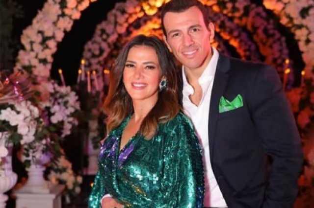 بحبك أوي.. أول تعليق من دنيا سمير غانم بعد إصابة زوجها بكورونا