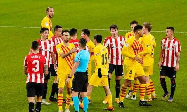 ميسي يقود تشكيل برشلونة أمام أتلتيك بلباو