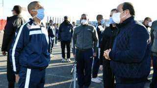 السيسي يزور طلاب الشرطة: اشكروا أسركم لأنهم قدموكم لمصر