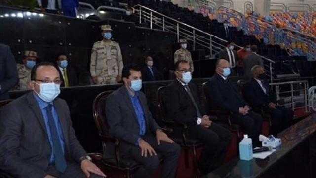 رئيس الوزراء يحضر مباراة مصر وسلوفينيا فى مونديال اليد