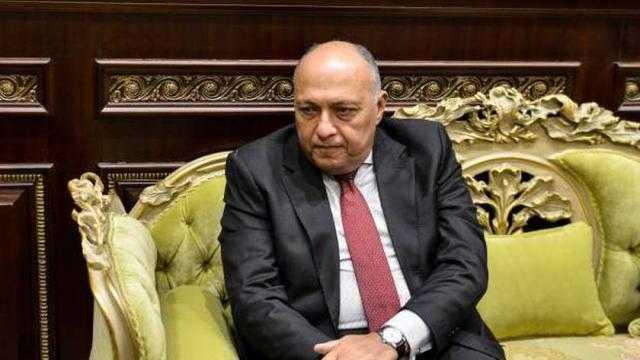 سامح شكري: نعمل مع البرلمان لتحقيق المصلحة العليا للدولة