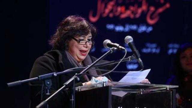 عاجل.. وزيرة الثقافة تكرم فريق مسرح المواجهة والتجوال