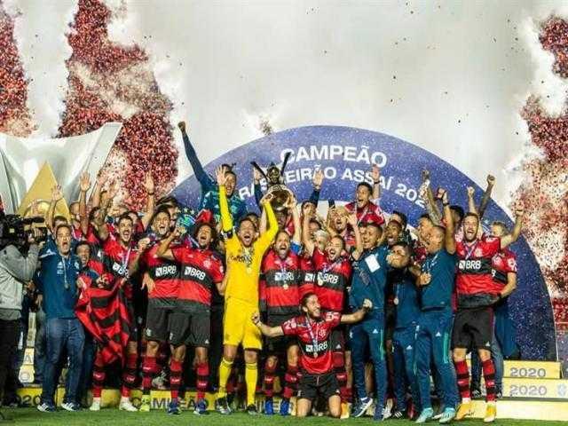 عاجل.. فلامينجو بطل الدوري البرازيلي للمرة الثانية على التوالي