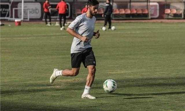 ناصر ماهر يشارك في مران الأهلي الجماعي