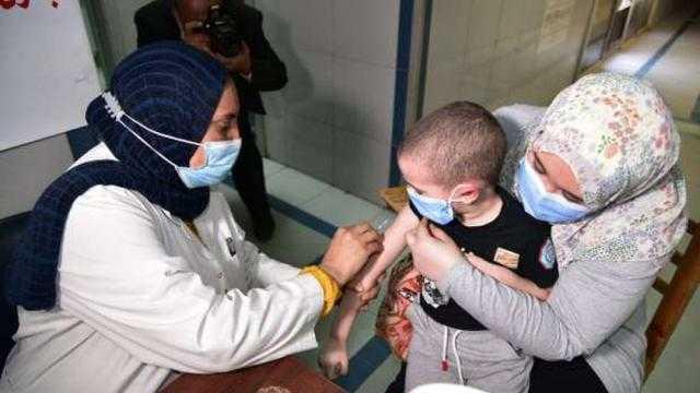 غدا.. بدء حملة التطعيم ضد شلل الأطفال بالقليوبية