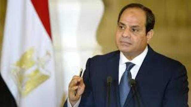 عاجل.. السيسي :أمن مصر من أمن الخليج