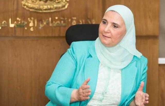 وزيرة التضامن:  توفير قروض بنك ناصر لنساء الريف