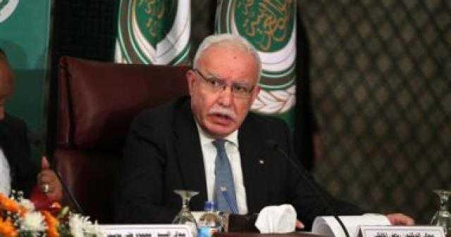 وزير الخارجية الفلسطينى يستعد للقاء المدعية العامة للجنائية الدولية