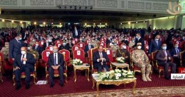 عاجل.. بدء فعاليات الندوة التثقيفية للقوات المسلحة بيوم الشهيد بحضور الرئيس السيسى