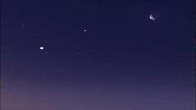كوكب زحل يظهر في سماء القاهرة