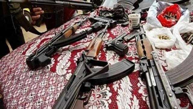 ضبط 20 قضية مخدرات وأسلحة فى حملة بالقليوبية