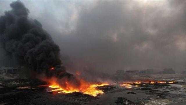 داعش تفجر أحد آبار النفط غرب كركوك بالعراق