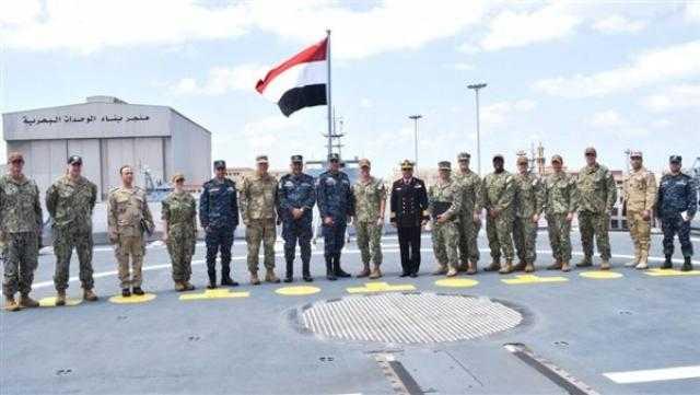 """السفارة الأمريكية تعلن دخول مصر عضوية القوات البحرية المشتركة """"CMF"""""""