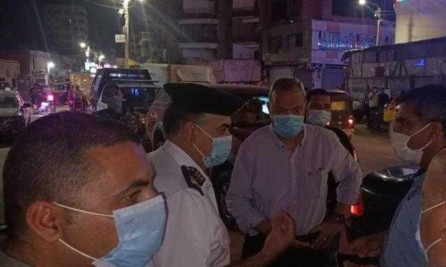ضبط 875 شيشة وتحرير 976 محضر عدم ارتداء كمامة بالقليوبية