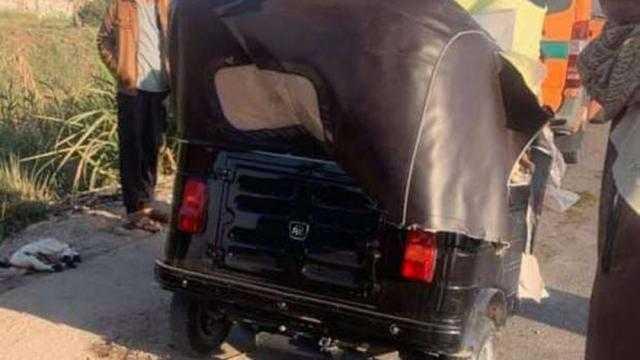 مصرع سائق نقل وإصابة مرافقه في حادث تصادم بالدقهلية