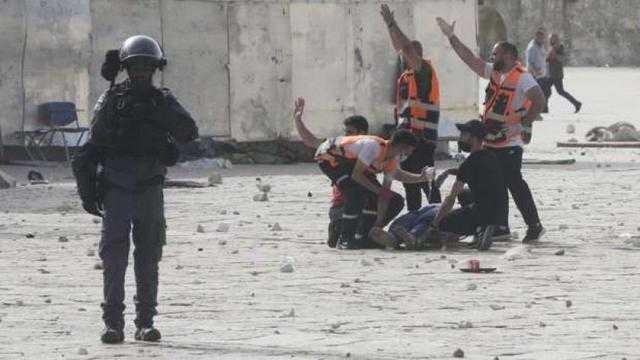 إصابة طفل فلسطيني بالرصاص المطاطي في عينه بالأقصى