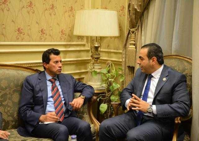 دكتور محمود حسين: وزير الشباب والرياضة يزور بورسعيد غدًا بشأن ستاد النادي المصري