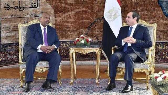 تفاصيل زيارة الرئيس السيسي لـ جيبوتي