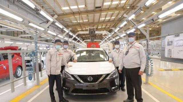 السفير الياباني يزور مقر نيسان موتور إيجيبت