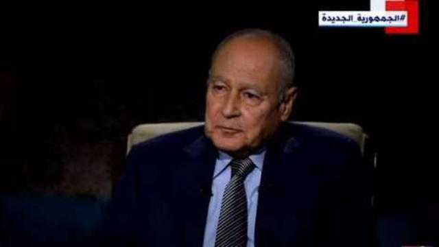 أبوالغيط: 30 يونيو استعادت الدولة الوطنية من جديد
