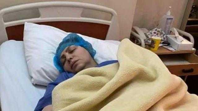 ميار الببلاوي تجري عملية جراحية