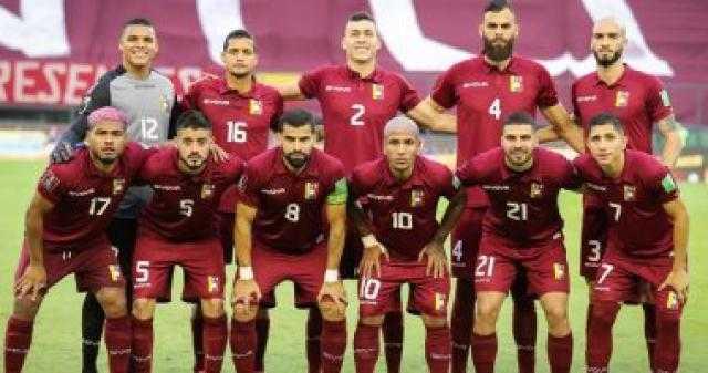 عاجل.. إصابة 5 لاعبين من منتخب فنزويلا بفيروس كورونا