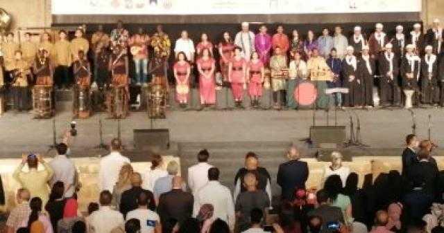 عاجل.. وصول وزيرة الثقافة إلى القلعة لافتتاح مهرجان الطبول والفنون التراثية