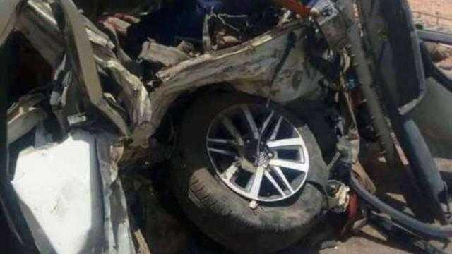 عاجل.. بالأسماء إصابة 8 أشخاص في حادث بطريق بنها المنصورة