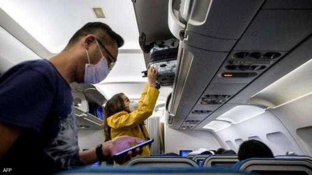 الطيران الأمريكي: 4 ركاب رفضوا ارتداء الكمامة قد يواجهون غرامات بـ15 ألف دولار