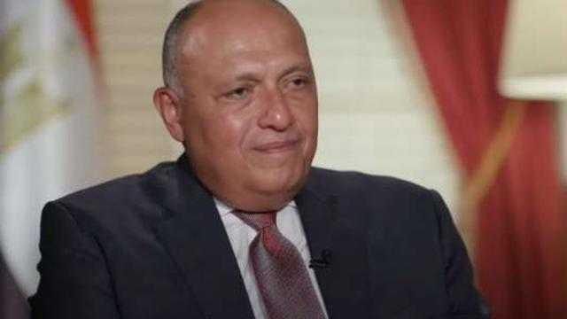 شكري: العلاقات المصرية الأمريكية حققت المصالح لكلا الطرفين