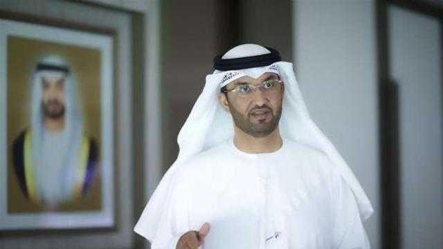 وزير الصناعة الإماراتي يبحث مع جون كيري تعزيز العمل المناخي