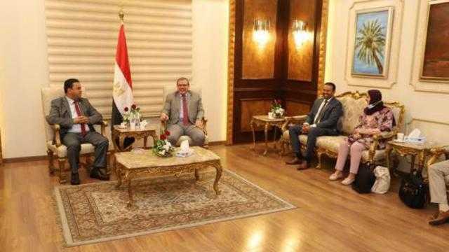 عاجل.. سعفان يستقبل وزير العمل الليبي لبحث عودة العمالة المصرية للجماهيرية