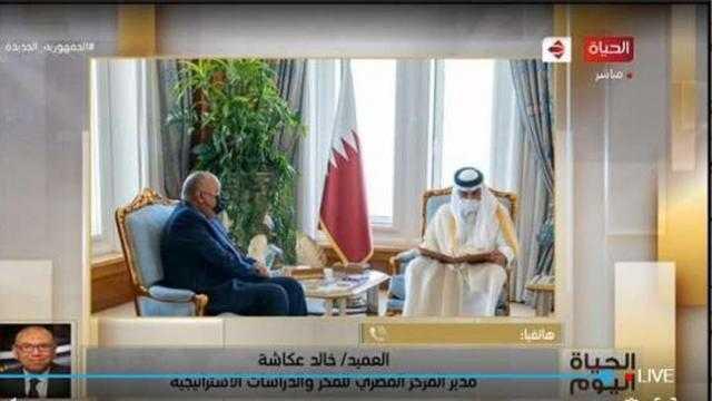 خالد عكاشة: جهد دبلوماسي مبذول لحشد عربي لصالح مصر والسودان