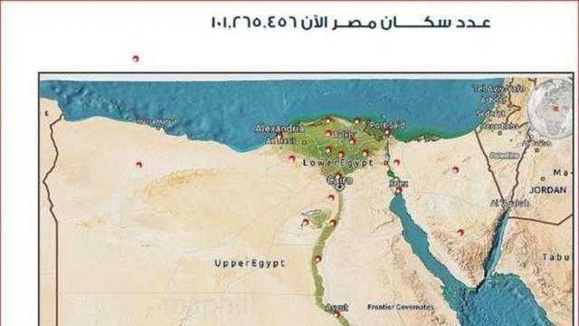 الإحصاء: زيادة عدد سكان مصر 1.9 مليون نسمة في سنة و4 أشهر