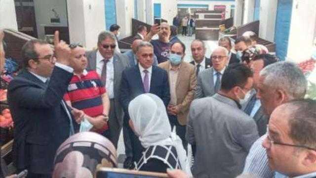 السجيني يشيد بجهود التطوير والتنمية في محافظة بورسعيد