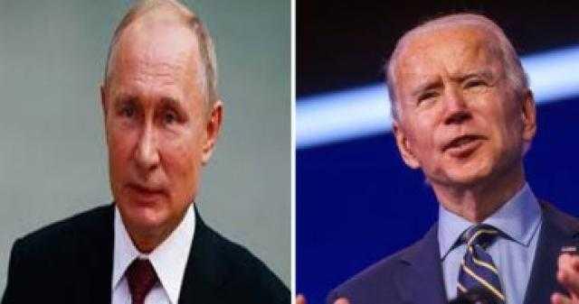 بايدن: أبلغت بوتين بالعواقب المدمرة حال وجود هجمات سيبرانية أو وفاة نافالنى