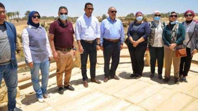 رئيس تنشيط السياحة في جولة للمواقع الثقافية والترفيهية بالفيوم