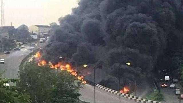 مصرع 13 شخصًا إثر انفجار صهريج للنفط في كينيا