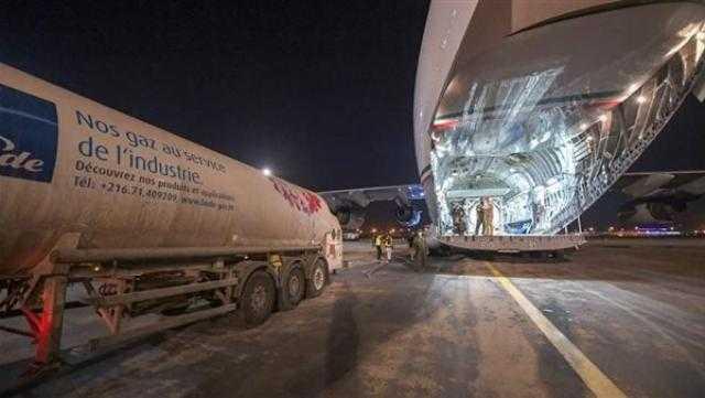 الكويت ترسل ثالث طائرة مساعدات إلى تونس