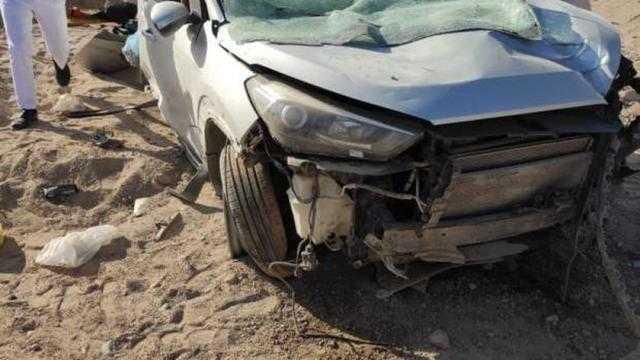 عاجل.. إصابة 6 مواطنين في تصادم 3 سيارات على طريق الساحل الشمالي