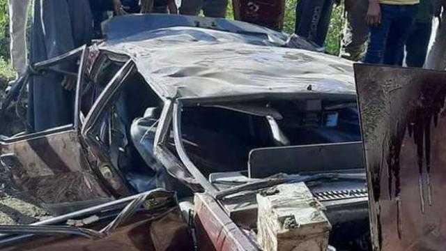 عاجل.. مصرع طفل وإصابة 8 آخرين في حادثي تصادم بالبحيرة