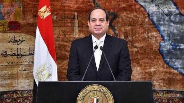 مشاركة السيسي في مؤتمر دعم لبنان الأبرز بالصحف