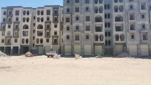 الإسكان: 80% نسبة تنفيذ عمارات الساحلي المتميز في رشيد الجديدة