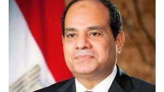 شاهد.. لحظة وصول الرئيس السيسي لتفقد ميناء الإسكندرية البحري