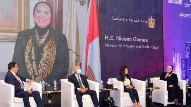 وزيرة التجارة: دور رئيسي للقطاع الصناعي في تنفيذ المشروعات القومية