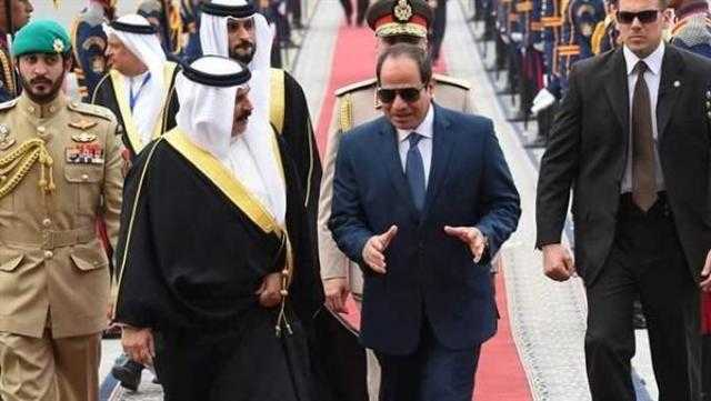 السيسي يستقبل ملك البحرين في شرم الشيخ